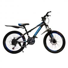 """Велосипед 22"""" Dook Black"""