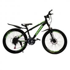 "Велосипед 24"" Dook green"