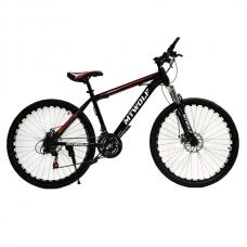 """Велосипед 26"""" MTWOLF черный+красный"""
