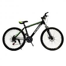 """Велосипед 26"""" MTWOLF черный+зеленый"""