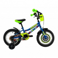 """Детский велосипед 14"""" 2-4 лет DHS 1403 синий"""