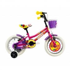 """Детский велосипед 14"""" 2-4 лет DHS 1404 розовый"""