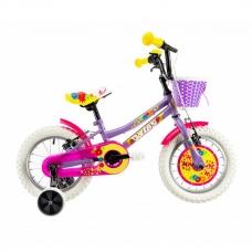 """Детский велосипед 14"""" 2-4 лет DHS 1404 фиолетовый"""