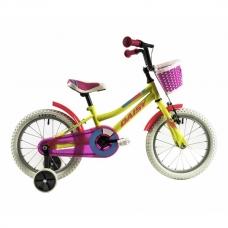 """Детский велосипед 16"""" 4-6 лет DHS Speedy 1601 Желтый"""