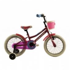 """Детский велосипед 16"""" 4-6 лет DHS Daisy 1602 розовый"""