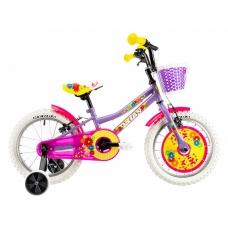 "Детский велосипед 16"" 4-6 лет DHS Daisy 1604 Purple"