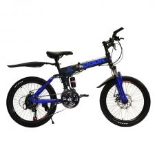 Детский велосипед 6-9 лет Dook Складной 20 Синий