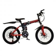 Детский велосипед 6-9 лет Dook Складной 20 Красный