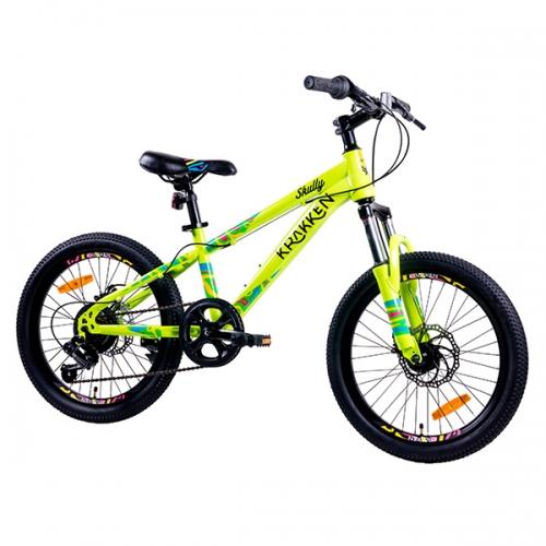 Детский велосипед 20″ 6-9 лет Aist Krakken Skully