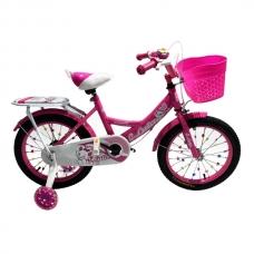 """Детский велосипед 16"""" 4-6 лет Luta 16 розовый"""