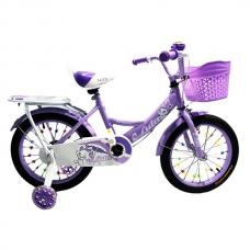 Детский велосипед 4-6 лет Luta 16 фиолетовый