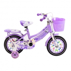 """Детский велосипед 12"""" 2-4 лет Luta фиолетовый 12"""