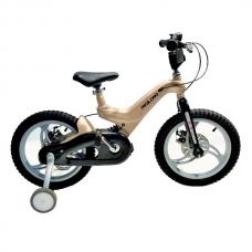 Детский велосипед 4-6 лет Mioilong 16 Бежевый