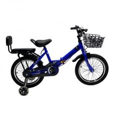 Детский велосипед 6-9 лет YouBeiWZ 16 Синий