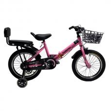 Детский велосипед 6-9 лет YouBeiWZ 16 Розовый