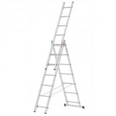 Лестница 424 см, из 3 секций Villager 3x7