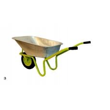 Строительная тачка MasterKraft, колесо пена R-M1