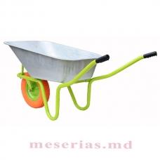 RM1 Roabă pentru construcții MasterKraft, roată spumoasă