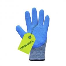 Mănuși pentru lucru bumbac cu latex spumant
