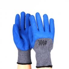 Перчатки рабочие ХБ с латексным покрытием