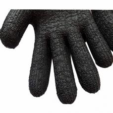 Перчатки рабочие с латексным покрытием, теплые