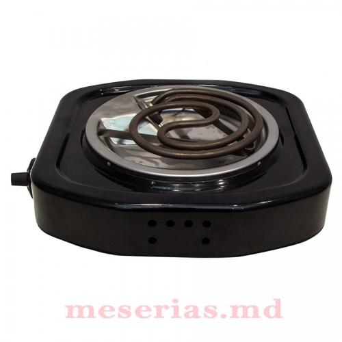 Электроплита 1 кВт, 1 конфорка Лемира, черная