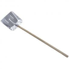 Лопата для уборки снега, алюминиевая cчеренком