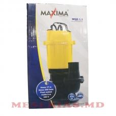 Дренажно-фекальный насос 1.1 кВт Maxima WQD