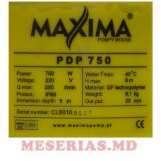 Дренажный насос 0,75кВт MAXIMA PDP 750