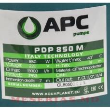 Насос дренажный 0,85 kW APC PDP 850 M