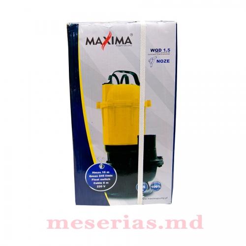 Насос дренажно-фекальный Maxima WQD 1,5