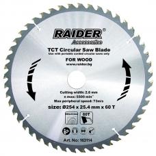 Пильный диск по дереву 254x60Tx25.4мм Raider 163114