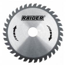 Пильный диск по дереву 125x40Tx22.2мм Raider 163131