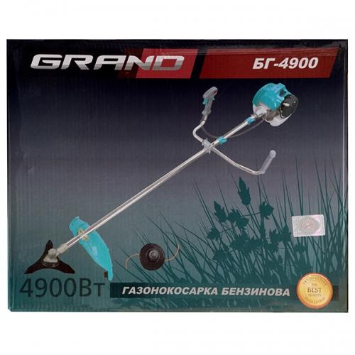 Мотокоса 4,9 кВт Grand БГ-4900