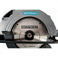 Пила дисковая 1.95 кВт Grand ПД-185-1950