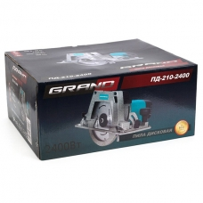 Пила дисковая 2.4 кВт Grand ПД-210-2400