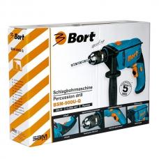 Дрель ударная 0,9 кВт Bort BSM-900U-Q