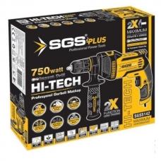 Дрель SGS 5142 13mm 750Wt