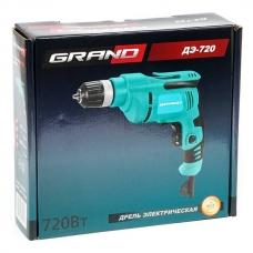 Дрель 0.72 кВт Grand ДЭ-720