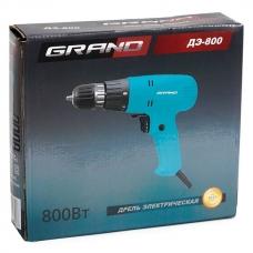 Сетевой шуруповерт 0.8 кВт Grand ДЭ-800