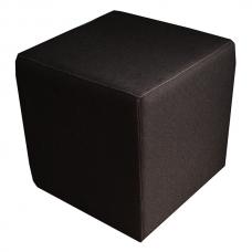 Мягкий стул Пуф квадратный коричневый