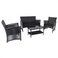 Набор мебели Malaga черный