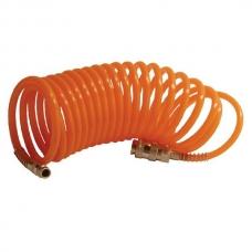 Cпиральный шланг быстросъёмный 10 м Intertool PT-1704