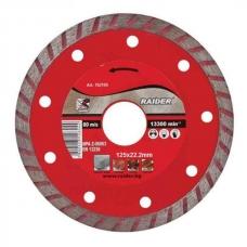 Алмазный диск Турбо 125x22.2мм Raider 162105