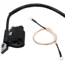 Катушка зажигания бензопилы (1 ухо)