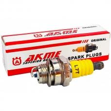 Свеча зажигания AKME Premium Yellow 3 контакта L53 M14*1,25 9,5mm EVO