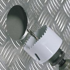 Коронка биметаллическая 20мм HSS 8% Co M42 для металла Raider 157820