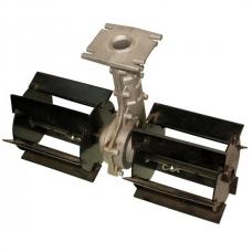 Насадка на мотокосу культиватор 7T D26mm