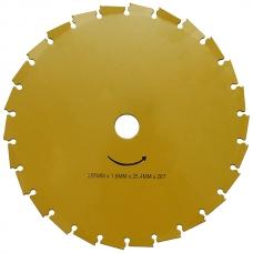 Диск триммера 26-T (255х1,6х25,4) под напильник