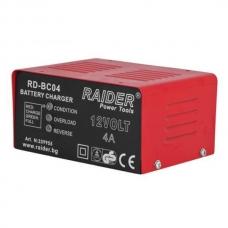 Зарядное устройство для аккумулятора 12В 4А Raider RD-BC04